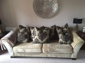 Large Three Seater Sofa - For Sale