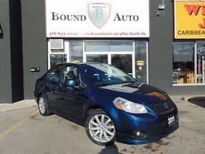 2011 Suzuki SX4 SPORT - ALLOY WHEELS - ACCIDENT FREE