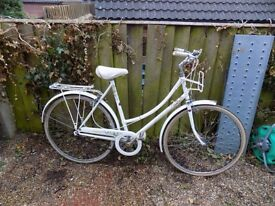 Raleigh caprice ladies dutch loop vintage bicycle liz pepperel etd