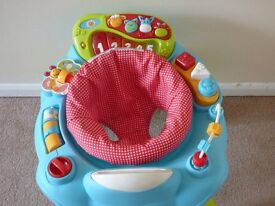 Activity play unit, suitable for children that can support their head.