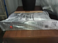 Mistral 2kw stainless steel plinth heater. Brand new boxed.