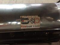 Diesel blow heater