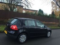 Vw golf 1.4 s 2005 4 door cheaper to insure drives superb polo Yaris Clio Astra