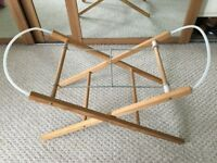 Wooden Stand for Moses Basket