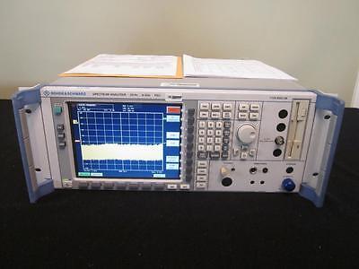 Rohde Schwarz Fsu8 20hz - 8ghz Spectrum Analyzer W Opts K5b16 - Calibrated