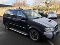 Kia sedona 2.9 diesel automatic 7 seater mpv 05-plate! NO MOT NO LOGBOOK AND NEEDS PAINTING £395!!