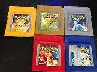 Pokemon Nintendo Game Boy games with new batteries.