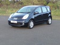 NISSAN NOTE ACENTA 1386cc (FULL NISSAN HISTORY) 12 MONTHS M.O.T 6 MONTHS WARRANTY