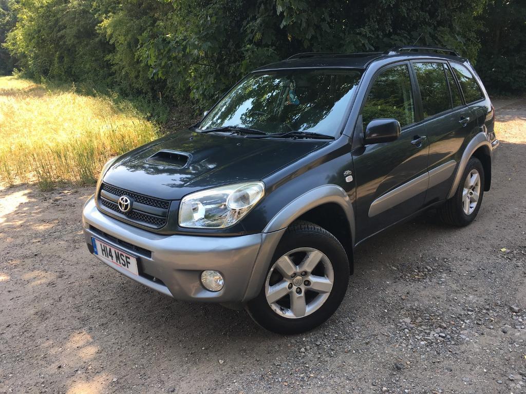 2003 toyota rav4 xte d4d diesel manual grey 5 door