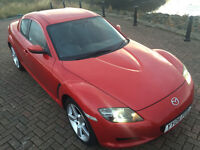 MAZDA RX8 231 ps Velocity Red - Stunning Condition + 12 Month MOT