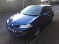 Late 06 megane, mot March 19. 1 previous owner!! Priced to sell