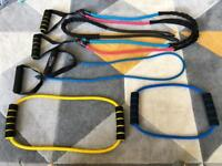 Gym resistance training bands