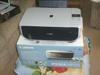 CANNON PIXMA MP220 ALL IN ONE PRINTER AND SCANNER