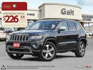 2015 Jeep Grand Cherokee LIMITED | TOW GRP NAV 8.4TOUCH PARK ASS
