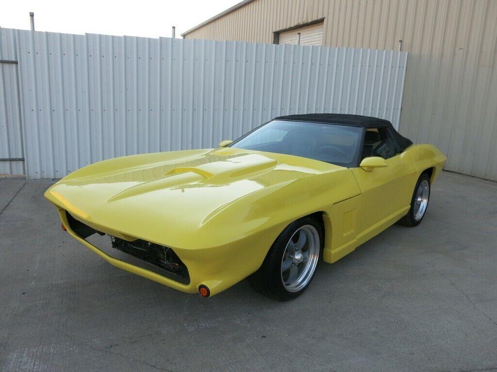 1966 Red Chevrolet Corvette Convertible  | C2 Corvette Photo 1
