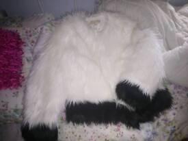 Micheal kors faux fur jacket size 18