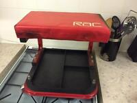 RAC roller seat
