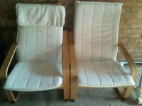 Pair of comfy armchairs for sale - £20 for two