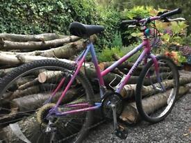 Ladies/Girls Raleigh mountain bike. Monterey sis