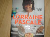 LORRAINE PASCAL - HOW TO BE A BETTER COOK - IMMACULATE, SHOP CONDITION