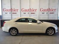 2014 Cadillac ATS 2.0L Turbo Luxury AWD, Sunroof, CUE