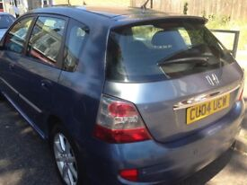 Honda Civic 2004 automatic very good condition and drives very smooth air condition leather seats