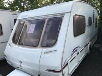 Swift fairway 500 2005 fixed bed touring caravan