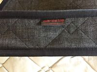 Audi TT Back seat cover - charcoal grey in good condition.