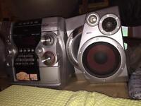 Stereo system, CD Multichanger, Radio, double-cassette