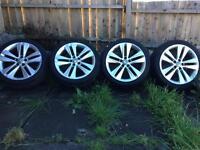 18 Vauxhall alloys 5x110 225/40/18