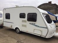 sprite alpine 20008 model 4 berth fixed bed immaculate condition,no damp,no damage