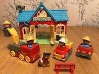 Happyland Fire Station Play Set