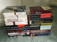 18 Various Military History Books