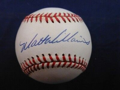 Matt Williams signed Official League Ball with Case and Personal COA