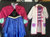 Frozen Anna/Docmcstuffin dress up age 3