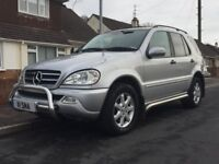 Stunning example of the ML270, Full service history, approx £14k of upgrades from new