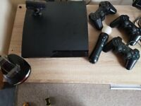 PS3 set 3 pads ps move charger cam games