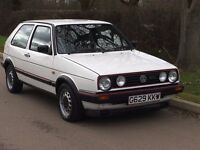 1989 VOLKSWAGEN GOLF MK2 GTI ONLY 103K FROM NEW STUNNING CONDITION ONLY £5999