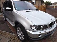 BMW X5 12 MONTHS MOT GREAT DRIVE, TWO KEYS,