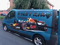 Valet king. Mobile valeting service