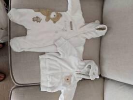 Newborn snowsuit and warm jacket