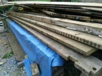 Reclaimed timber joists