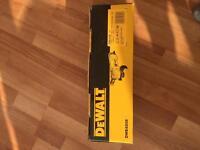 Dewalt angle grinder 120v brand new