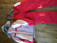 Girls ski bundle Age 11-12 including jacket, trousers, base layers, fleece etc