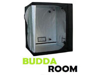 GROW TENT 1,2m sq by 2m tall [BUDDA ROOM BRAND, NEW, BOXED ITEM]