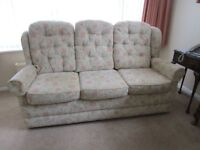 HSL HOLLY PETITE 3 PIECE SUITE WITH RECLINER CHAIR