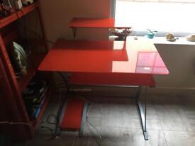 Red glass desc