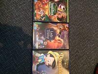 Disney films for sale.