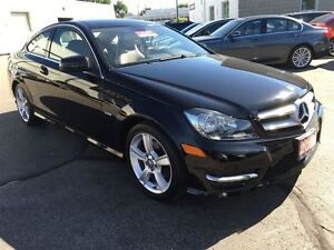 2012 Mercedes-Benz C-Class C250 | 1.8L COUPE | BEIGE LEATHER | N Kitchener / Waterloo Kitchener Area image 8