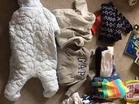 Baby clothes and maternity clothes